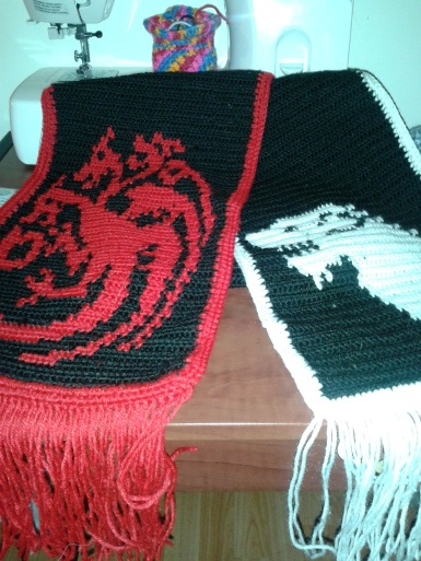 Scarf of Ice and Fire